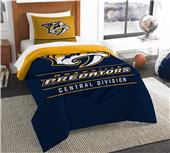 Northwest NHL Predators Twin Comforter & Sham