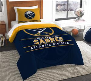 Northwest NHL Sabres Twin Comforter & Sham