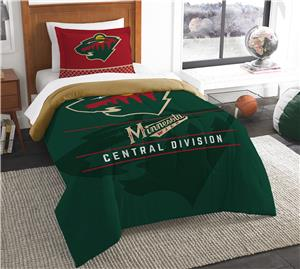 Northwest NHL Wild Twin Comforter & Sham