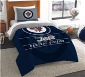 Northwest NHL Jets Twin Comforter & Sham