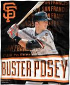 Northwest MLB Buster Posey HD Silk Touch Throw