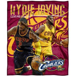 Northwest NBA Kyrie Irving HD Silk Touch Throw