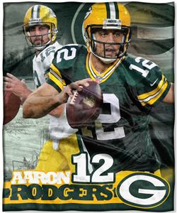 Northwest NFL Aaron Rodgers HD Silk Touch Throw
