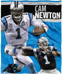 Northwest NFL Cam Newton HD Silk Touch Throw