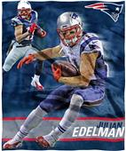 Northwest NFL Julian Edelman HD Silk Touch Throw