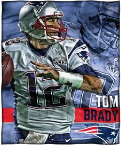 Northwest NFL Tom Brady HD Silk Touch Throw
