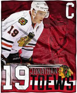 Northwest NHL Jonathan Toews HD Silk Touch Throw