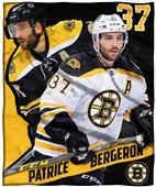 Northwest NHL Patrice Bergeron HD Silk Touch Throw
