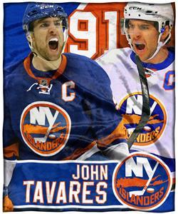 Northwest NHL John Tavares HD Silk Touch Throw