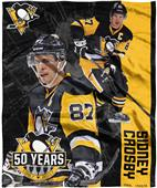Northwest NHL Sidney Crosby HD Silk Touch Throw
