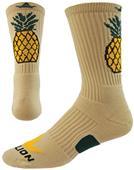 Red Lion Pineapple Crew Socks
