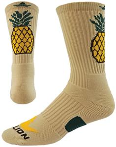 Red Lion Pineapple Crew Socks - Closeout