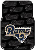 Northwest NFL Rams Car Mats (set of 2)