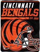Northwest NFL Bengals 40yd Dash Raschel Throw