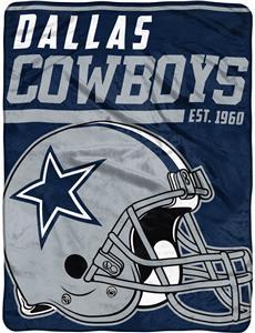 Northwest NFL Cowboys 40yd Dash Raschel Throw
