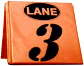 Hadar Track & Field Set of 8 Lane Markers