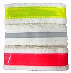 Reflective Terry Cloth Headbands Closeout