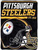 Northwest NFL Steelers 40yd Dash Raschel Throw