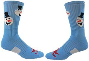 Red Lion Snow Man Crew Socks - Closeout