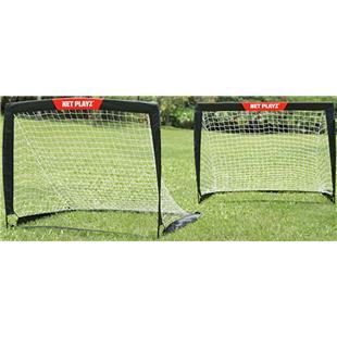 Net Playz 4'x3' Soccer Easy Playz Fold-Up SET 2