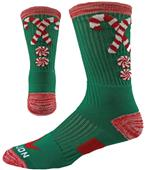 Red Lion Candy Canes Crew Socks