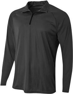 A4 Adult Daily 1/4 Zip Long Sleeve Pullover