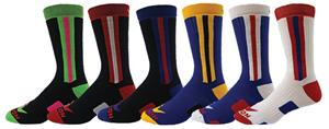 Red Lion Racer Crew Socks
