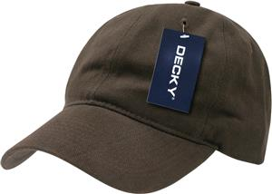 Decky Relaxed Brushed Cotton Cap