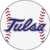 Fan Mats NCAA University of Tulsa Baseball Mat
