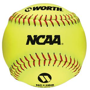 "Worth 12"" NCAA Recreational Softballs"