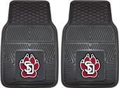 Fan Mats NCAA South Dakota Vinyl Car Mats (set)