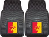 Fan Mats NCAA Pittsburg State Vinyl Car Mats (set)