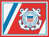Fan Mats U.S. Coast Guard 8'x10' Rug