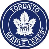 Fan Mats NHL Toronto Maple Leafs Roundel Mat
