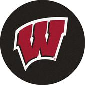 Fan Mats NCAA University of Wisconsin Puck Mat