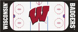 Fan Mats NCAA University of Wisconsin Rink Runner