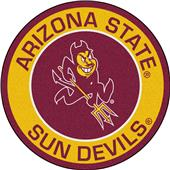 Fan Mats NCAA Arizona State University Roundel Mat