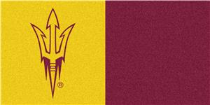 Fan Mats NCAA Arizona State Univ Team Carpet Tiles