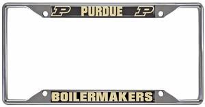 Fan Mats NCAA Purdue Univ. License Plate Frame