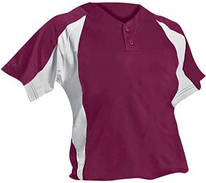 Under Armour Womens Henley Softball Jersey - CO