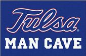 Fan Mats NCAA Univ. of Tulsa Man Cave Starter Mat