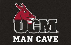 Fan Mats NCAA Central Mo. Man Cave Starter Mat