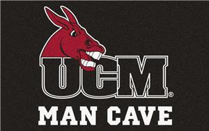 Fan Mats NCAA Central Missouri Man Cave UltiMat