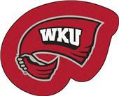 Fan Mats NCAA Western Kentucky Mascot Mat