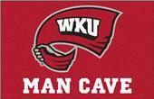 Fan Mats NCAA Western Kentucky ManCave Starter Mat