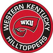 Fan Mats NCAA Western Kentucky Roundel Mat
