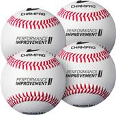 "Champro 7.5"" Precision Training Baseballs-Set of 4"