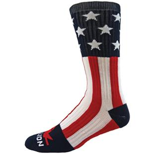 Red Lion Star Spangled Crew Socks - Closeout
