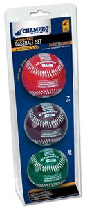 Champro Weighted Training Baseballs-Basic Set