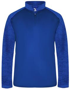 Badger Sport Adult Sport Tonal Blend 1/4 Zip Shirt